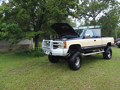 Chevrolet : C/K Pickup 2500 CK 1994 extended cab 12 lifted chevy 4 wheel drive not a mud truck daily driver