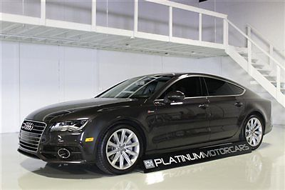 Audi : A7 Prestige 2012 audi a 7 prestige very well equipped low miles