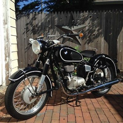 BMW : R-Series 1959 bmw r 26 original survivor 10 k miles triple matching numbers