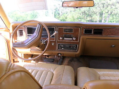 Mercury : Other 460 1978 mercury marquis base hardtop 2 door 7.5 l