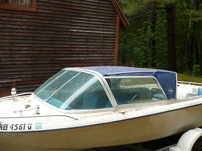 1970s ARISTOCRAFT PROJECT BOAT WITH TRAILER - ENGINE