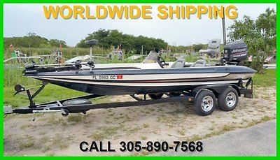 1997 STRATOS PRO ELITE BASS BOAT 201! 249 HOURS! READY FOR WATER!
