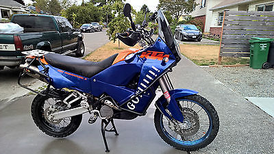 KTM : Adventure Incredible 2004 KTM Adventure 950 S -- upgraded suspension and lots of adds