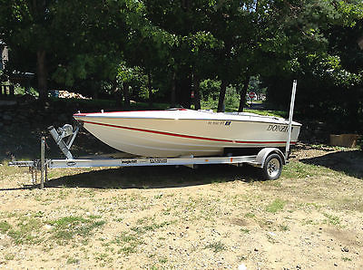 1993 Donzi Sweet 16 speed boat Ford vm OMC Cobra 5.0