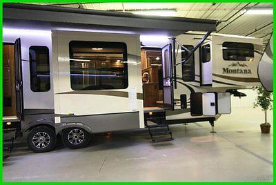 2015 Keystone Montana 3711FL New front living room camper 6 slide outs