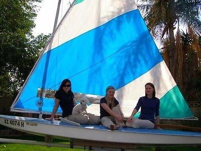 AMF Alcort Sunfish (complete boat & trailer)