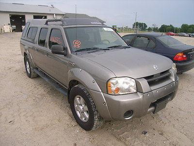 Nissan : Frontier SC Crew Cab Pickup 4-Door 2004 nissan frontier sc crew cab pickup 4 door 3.3 l