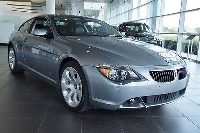 BMW : 6-Series 650i SPORT PACKAGE 2007 bmw 650 i coupe only 11 k miles flawless condition sport package navigation