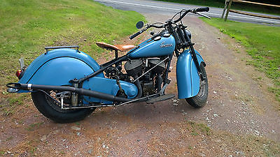 Indian : Chief Indian Chief Motorcycle 1947 Orignial