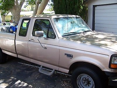 Ford : F-250 XL Extended Cab F250 Power Stroke Heavy Duty F250POWER STROKE DIESEL7.3TURBO CHARGED 1997FORD PICKUP TRUCK 5TH WHEEL PART VTG