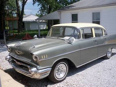 1957 4 door chevrolet cars for sale for 1957 chevy 4 door sedan