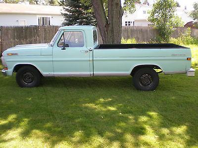 Ford : F-100 Sport custom 1970 ford f 100 2 wd sport custom pickup truck