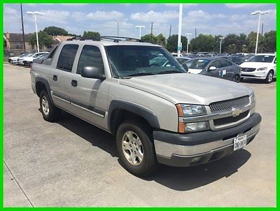 Chevrolet : Avalanche 4X4 2004 chevrolet avalanche 117 k miles 4 wd leather sunroof bose 1 owner clean carfax