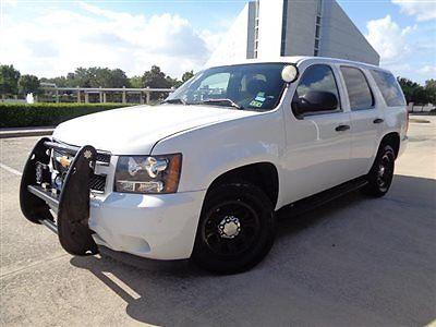Chevrolet : Tahoe 2WD 4dr 1500 LS 12 tahoe squad car grille guard full lts intercom scanners runs gr 8