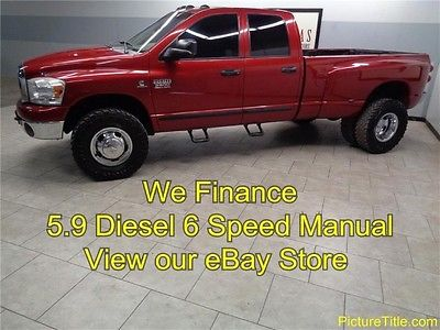 Dodge : Ram 3500 4WD Dually 5.9 Diesel 6 Speed 07 ram 3500 quad 4 x 4 5.9 cummins diesel 6 speed we finance texas