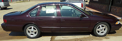 Chevrolet : Impala SS 1996 chevy impala ss 00202 actual miles