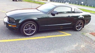 Ford : Mustang BULLITT GT 2008 bullitt edition mustang 4740 miles showroom highland green mcqueen mint