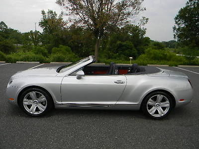 Bentley : Continental GT GTC CONVERTIBLE 1 ownr gtc convertible florida owned 100 original pristine best deal only 20 k