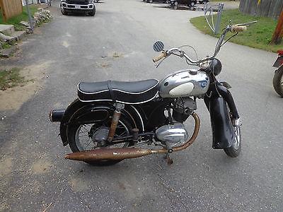 Other Makes : NSU Maxi  1962 nsu maxi 175 cc motorcycle rare vintage german motorcycle
