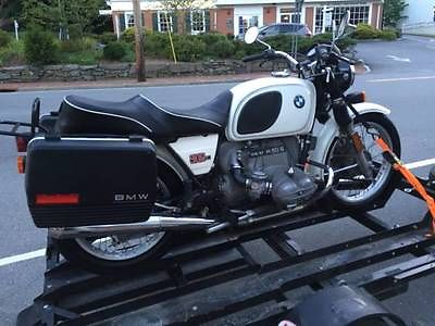 BMW : R-Series BMW R90/6 Matching Numbers Dover White