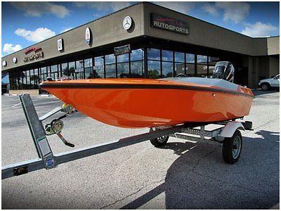 2011 St. Martin F11 Mini Speed Boat 15 hp Mercury Motor Stereo System