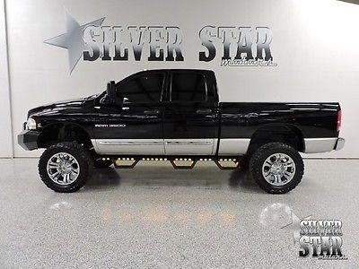 Dodge : Ram 3500 Laramie 4WD Cummins ProCompLift 2004 ram 3500 srw 4 wd cummins laramie quadcab shortbed 1 ton procomplift nice