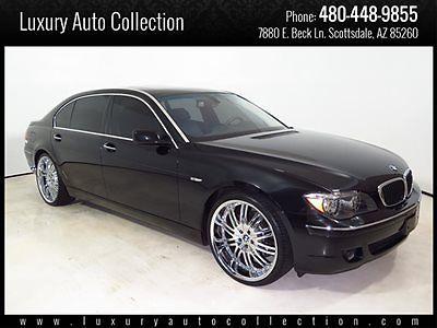 BMW : 7-Series 750Li 08 750 li 36 k miles htd ventilated seats reclining rear seats rear enter 09 10
