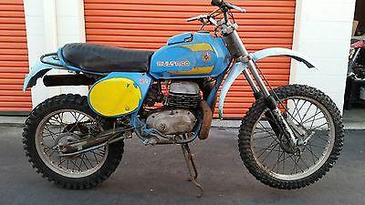 Bultaco : 370 Mk 11 Frontera 1978 bultaco 370 mk 11 frontera for parts or restoration