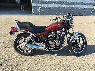 Honda : Nighthawk 1983 honda nighthawk cb 550