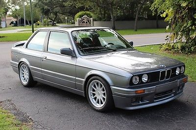 BMW : 3-Series 325is with M TECHNIC II kit & HARTGE accessories 1989 bmw 325 is 2 dr coupe with m technic ii kit hartge accessories 5 speed manual