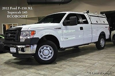 Ford : F-150 2dr Pickup 2012 ford f 150 xl 4 x 4 supercab 36 k msrp leer truck cap one owner loaded wow