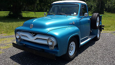 Ford : Other Pickups F250 1955 ford f 250 pickup