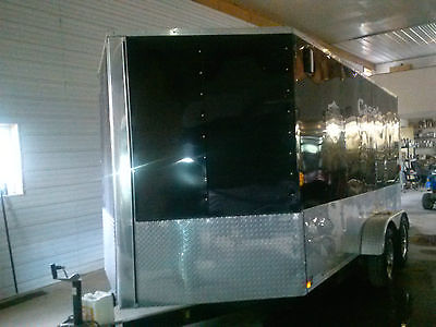 14Ft Enclosed motorcycle trailer