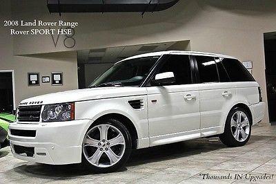 Land Rover : Range Rover 4dr SUV 2008 land rover range rover sport hse 20 wheels navigation harman kardon wow