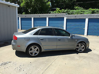Audi : A4 S Line Sedan 4-Door 2008 audi a 4 s line 2.0 t quattro awd 6 spd manual
