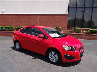Chevrolet : Sonic 4dr Sedan Automatic LT Chevrolet Sonic 4dr Sedan Automatic LT New Automatic Gasoline 4 Cyl RED HOT