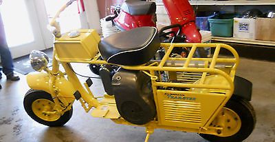 Cushman : Trailster 1962 65 cushman trailster motor cycle scooter motorcycle restored