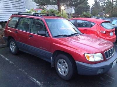 Subaru : Forester S Wagon 4-Door 2001 subaru forester s wagon 4 door 2.5 l moving 8 10 need to sell asap
