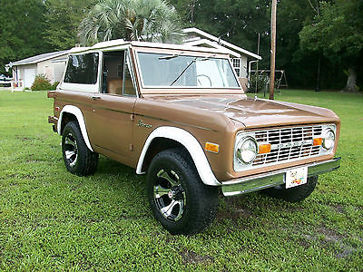 Ford : Bronco Ranger 1974 ford early bronco ranger 302 at ps pb cold a c exc show driver
