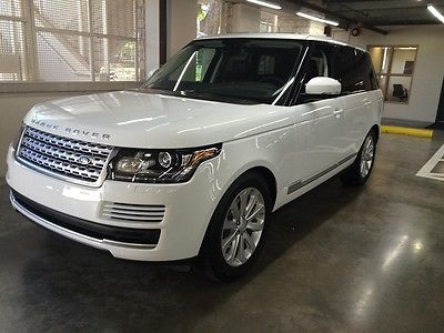 Land Rover : Range Rover 2015 RANGE ROVER HSE 2015 range rover hse fuji white