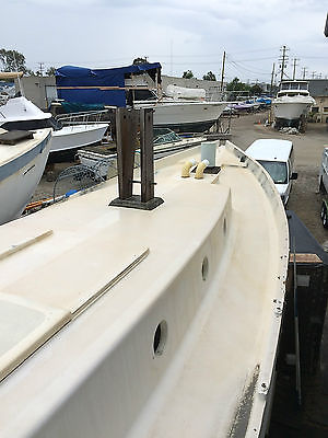 32' DREADNAUGHT UNFINISHED SAIL BOAT PROJECT 2015 TITLED