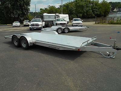 New 2016 ATC 20' All Aluminum Car Hauler Race Trailer 9990 lb GVWR