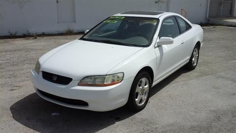 1998 Honda Accord Coupe EX Coupe 2D