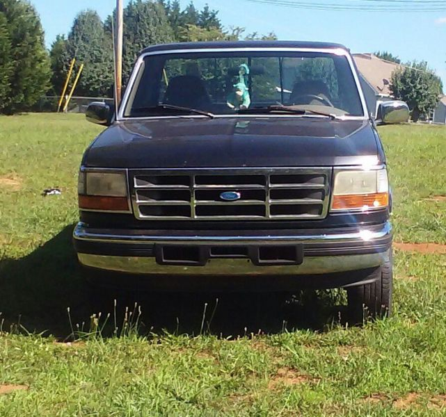 96 f 150 4x4 Eddie Bauer truck