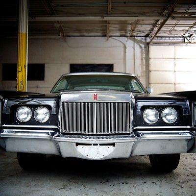 Lincoln : Continental Mark lll 1971 lincoln continental black mark lll black exterior 460 cid v 8 wire wheels