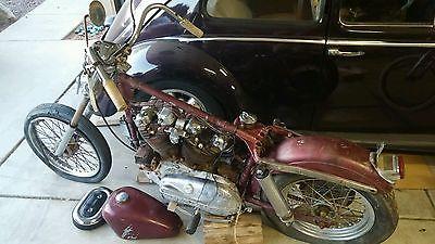 Harley-Davidson : Sportster 1965 harley sportster comtetition hot project bike