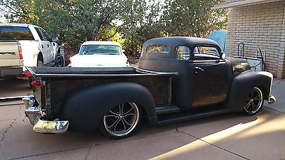 Chevrolet : Other Pickups 5 WINDOW 1954 49 very sick rat rod 5 window chevy truck 1 of a kind hot rod