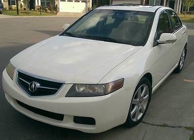 Acura : TSX Base Sedan 4-Door Fantastic 2004 Acura TSX Sports Sedan 4-Door 2.4L with extras!