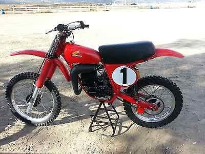 Honda : CR 1976 cr 125 rc 125 cr 125 m honda elsinore works bike replica center port