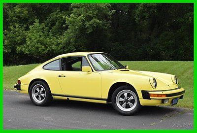 Porsche : 912 912E Sunroof, Manual Transmission, 89,923 Miles 1976 porsche 912 e sunroof manual transmission california survivor 89 923 mile